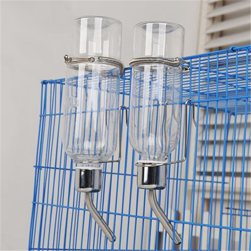180ml/350ml Small Pet Hamster Drinker Waterer Rabbit Guinea Pig Cat Water Fountain Dispenser Drinking Bottle