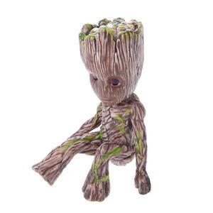 Image 5 - Bé Groot Lọ Hoa Hoa Dụng Cụ Bào Các Bức Tượng Nhỏ Cây Con Người Dễ Thương Đồ Chơi Mô Hình Bút Nồi Vườn Dụng Cụ Bào Hoa Tặng trẻ Em