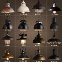 Винтажный деревенский металлический абажур Эдисона подвесные светильники ретро декоративная люстра Подвесная лама приспособление промыш