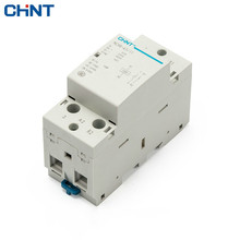 CHINT Household AC Contactor NCH8-63/11 220V Rail Type 1NO 1NC 2P 63A Universal AC Contactors