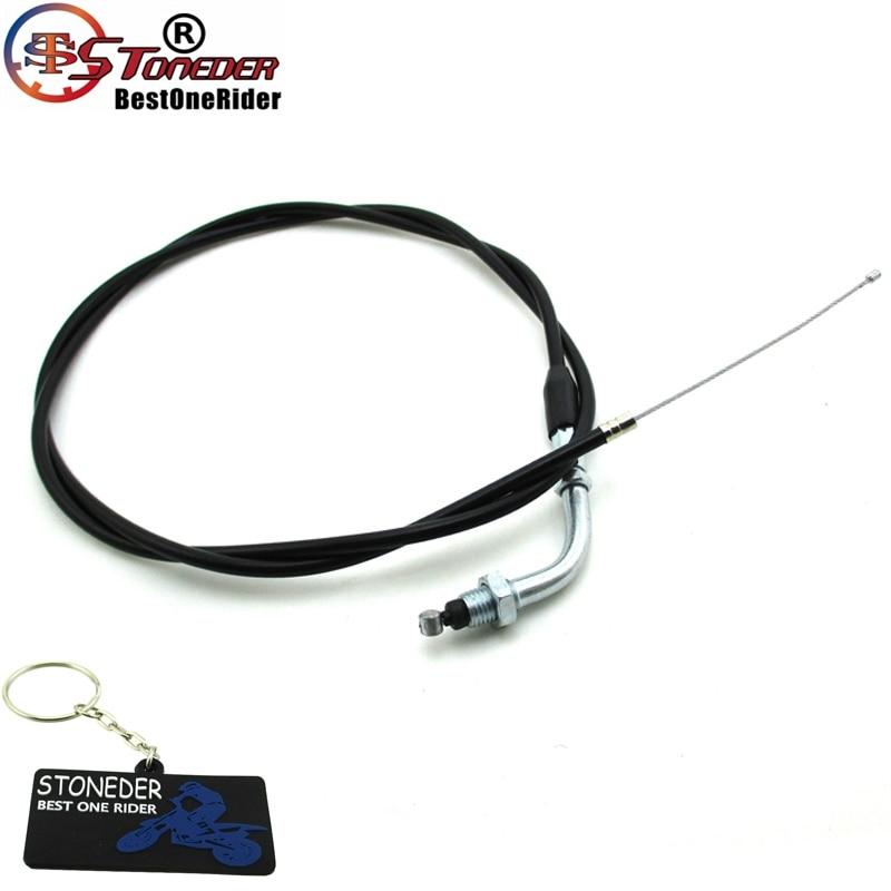 Throttle Cable /& Clutch Cable Line Fit 49cc 60cc 66cc 80cc Motorized Bike Yellow