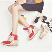 Shoes Casual Straw Summer