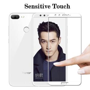 Image 3 - glass on Honor 9 Lite 9 light tempered glass for Huawei P20 Plus Honor View 10 V10 V9 9i 8 Pro P8 P9 Lite 2017 honor9 light glas