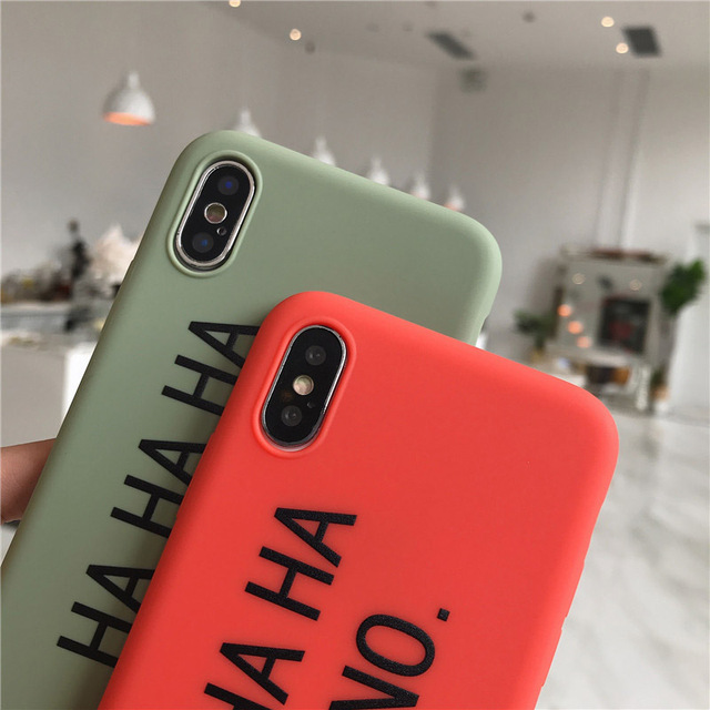 Ottwn Soft TPU Couples Phone Case For iPhone
