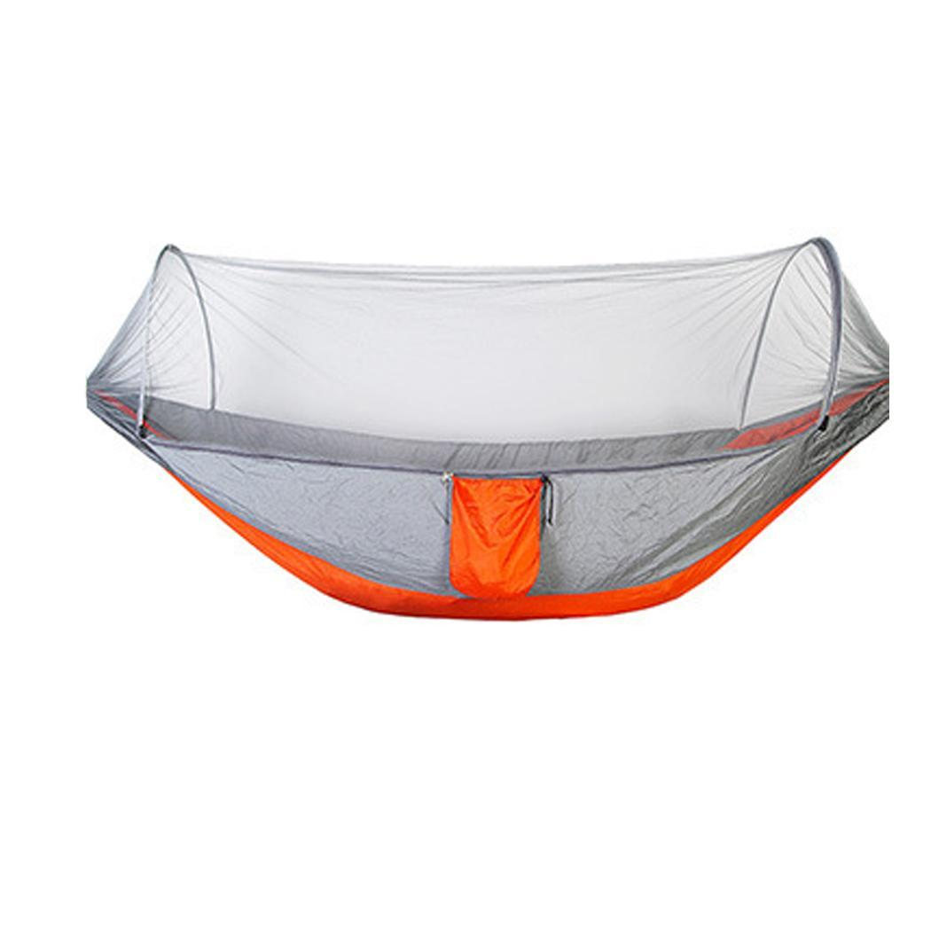 Outdoor Hanging Hammock with Mosquito Net Hiking Backpacking, Camping, Hiking, All Season Travel Camping TentOutdoor Hanging Hammock with Mosquito Net Hiking Backpacking, Camping, Hiking, All Season Travel Camping Tent