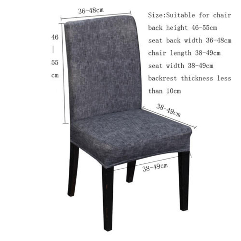 Remarkable Us 1 78 6 Off Brand New Style Stretch Fox Pile Fabric Dining Room Wedding Kitchen Home Short Chair Seat Covers Chair Cover In Chair Cover From Home Download Free Architecture Designs Intelgarnamadebymaigaardcom