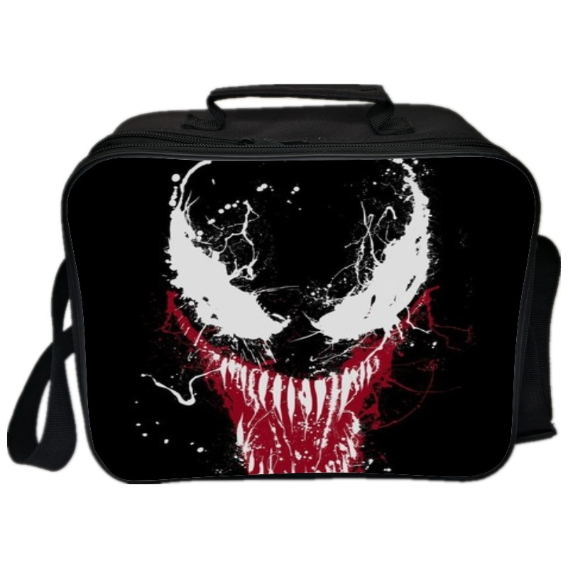 Hot Sale Printing Big Movie Venom Kids Lunch Bag for Children Food Box Boys Double Layer Portable Cooler Picnic for Students ralph lauren indigo stadium