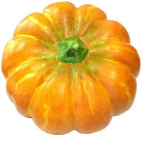 Gresorth 13'' Big Artificial Ornament Pumpkin Fake Cushaw Fall Harvest Party Christmas Halloween Decoration