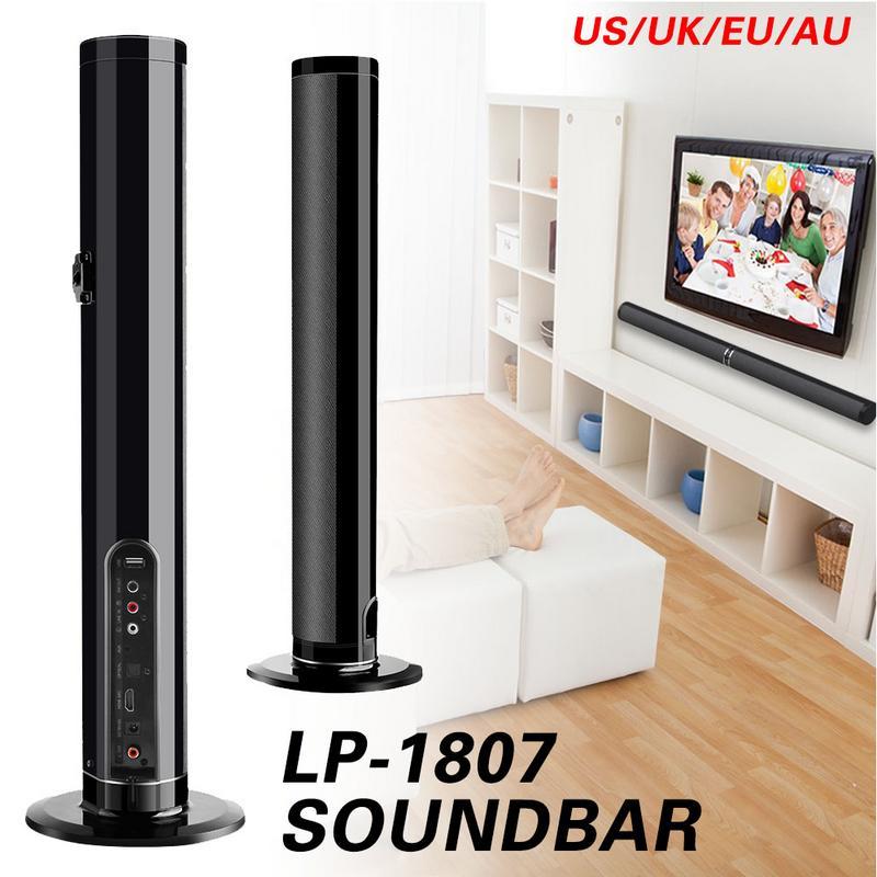 Barre de son sans fil Bluetooth 50 W barre de son Split/Intergral/mural Subwoofer haut-parleur TV Home cinéma AUX optique HDMI RCA