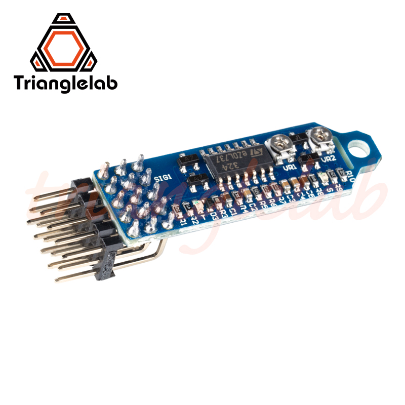 Trianglelab Precision Piezo Z-probe  Universal Kit Z-probe For 3D Printers Revolutionary Auto Bed Leveling Sensor 3d Touch