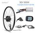Kunray Elektrische Rad 36 V Bürstenlosen Getriebe Hub Motor Electric Bike Conversion Kit 500 W KT LCD Led-anzeige Fahrrad zubehör 28