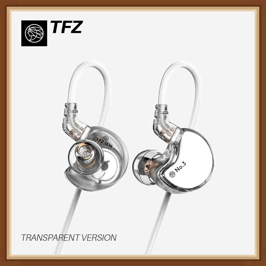 TFZ No 3 Third Generation Unit In Ear Music Headphones Professional HIFI Monitor Earphones 3 5mm