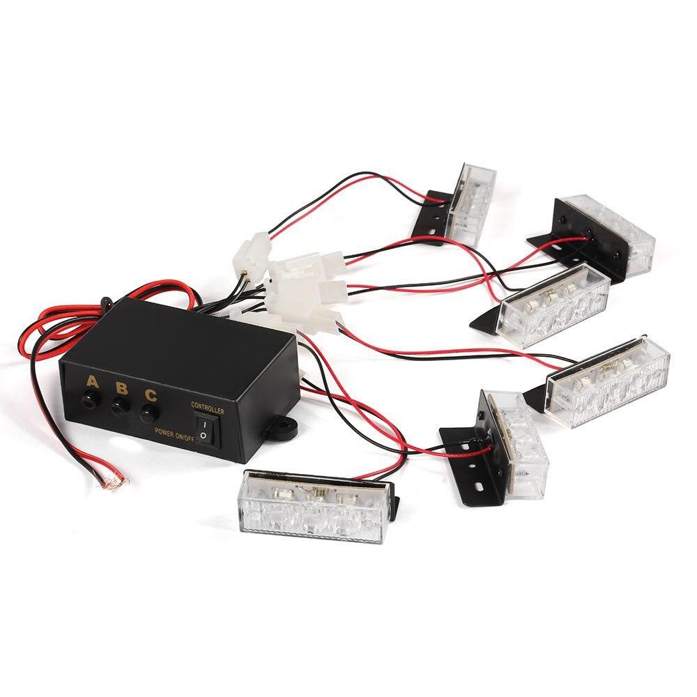 Voyant jaune clignotant de secours de tableau de bord de stroboscope de 18 LED pour le camion de voitureVoyant jaune clignotant de secours de tableau de bord de stroboscope de 18 LED pour le camion de voiture