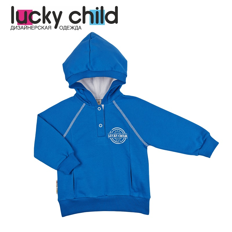 Hoodies & Sweatshirt Lucky Child for girls and boys 8-13 Kids Baby clothing Children clothes Jersey Blouse overalls lucky child for girls and boys 8 1 baby rompers children clothes
