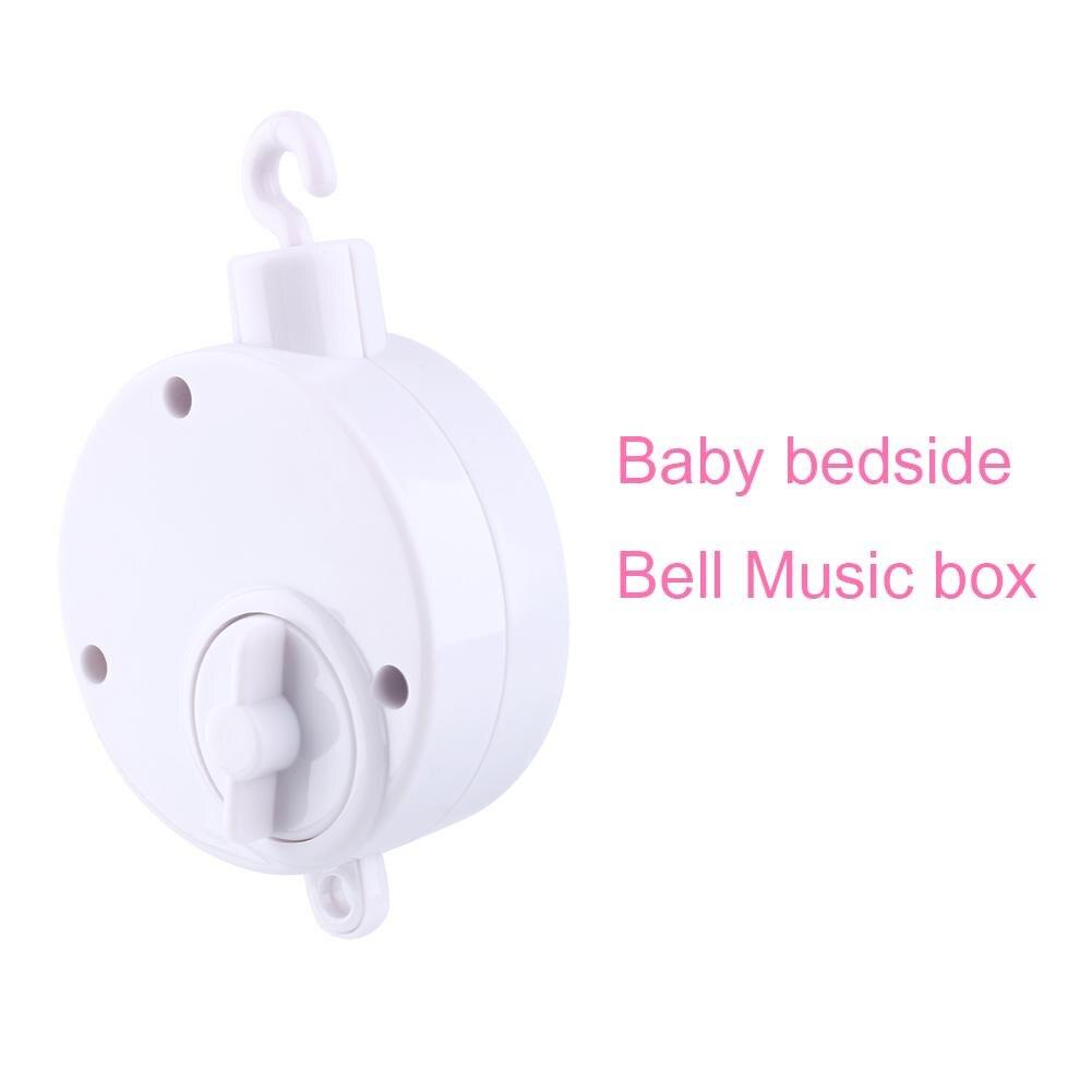 Zerodis Plastic Music Box Hand Clockwork Music Containeer Bed Bel Speelgoed Melodieën Baby Kid Speelgoed Windup Muziek Doos Accessoires Hot