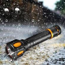 Small Flashlight Outdoor High Bright Aluminum Alloy Torch For Hunting Camping Emergency flashlight 18650