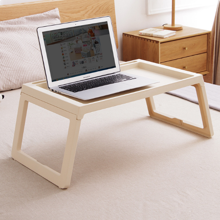 Creative Simple Lazy Study Table Laptop Table Easy Foldable Bed Desk Student Dormitory