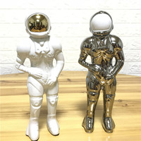 Vases from space gifts home decor astronauts ceramic vases wedding ornaments home decorations free delivery