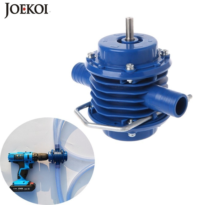 Outdoors Heavy Duty Self Priming Hand Electric Drill Water Pump Mini Submersibles Motor Ultra Home Garden Centrifugal PumpPumps   -