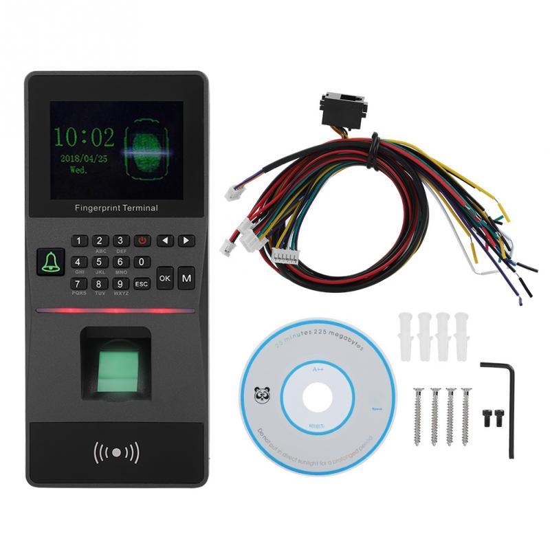 2.8inch TFT Color Screen RFID Fingerprint time attendance access control machine Fingerprint Reader стоимость
