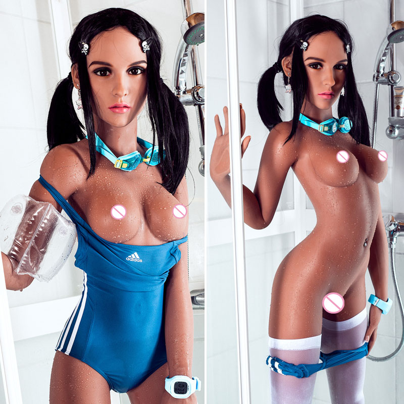 157cm Beauty Real Silicone Sex Dolls for Men Vagina Oral Ass Dropshipping TPE Rubber Woman