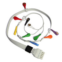 ECG Cable 10 lead ECG/EKG Holter Cable for CONTEC TLC5000 TLC6000 Dynamic ECG holter,NEW