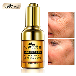 Image 1 - Fonce Anti Wrinkle Remover Facial Serum Plant Anti Aging Lifting Firming Face 25 55 Age Argireline Six Peptides Essence 30ml