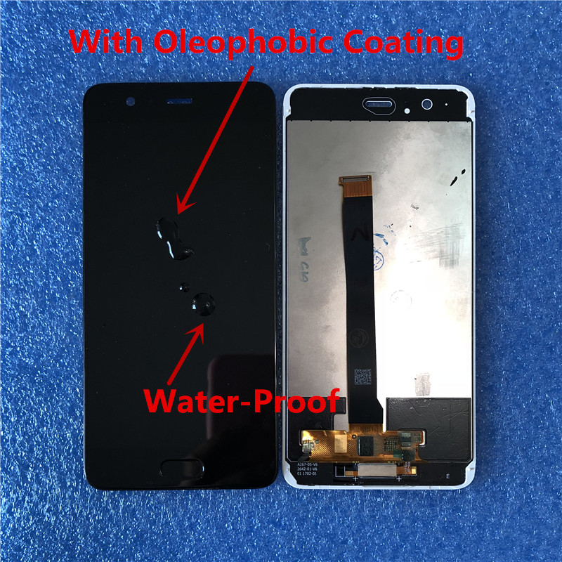 """Image 5 - Original For 5.5"""" Huawei P10 Plus p10 plus Axisinternational LCD screen Display+Touch Digitizer with frame+fingerprint+tools-in Mobile Phone LCD Screens from Cellphones & Telecommunications"""
