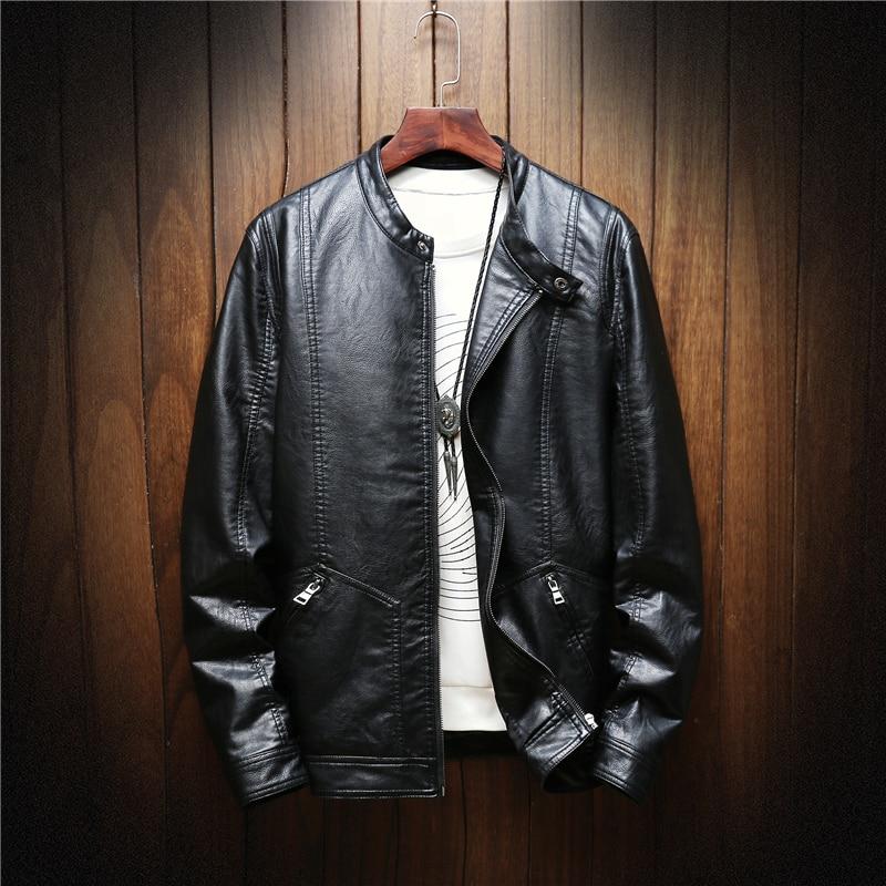 Hommes Xl M Haute Cuir Manteaux Brown noir Veste 2xl Noir Pu L 3xl Et S Dark Brun En Qualité gOwPPqE4