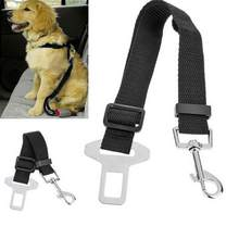 Nylon Animal Dog Pet Car Safety Seat Belt Harness Restraint Lead Leash Travel Clip Travel Animal Transportation Claw Clasp Belt(China)