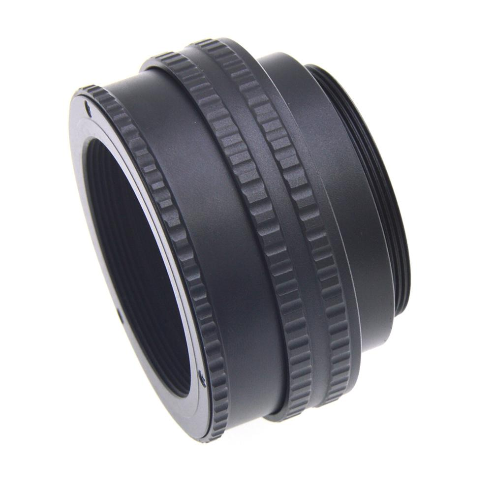 BEESCLOVER For <font><b>M42</b></font> to <font><b>M42</b></font> Lens Adjustable Focusing Helicoid Macro <font><b>Tube</b></font> Adapter 17 - 31mm Lens Adapter for <font><b>M42</b></font> Lens Camera r29 image