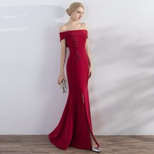 2019 Evening Dress Prom Dresses Dress With Sleeveless
