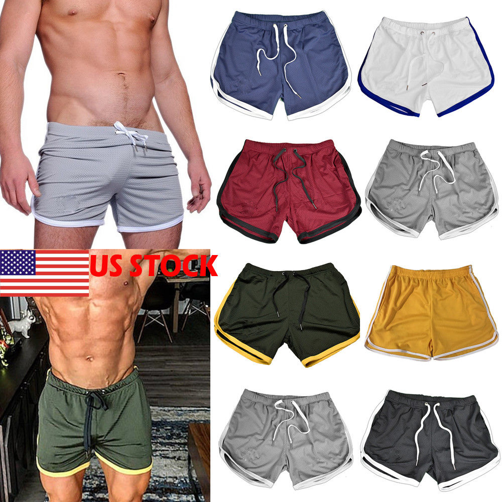 2019 Mens Summer New Fitness Shorts Fashion Compression Fast Drying Gym Bodybuilding Joggers Shorts Slim Fit Clothing Sweatpants