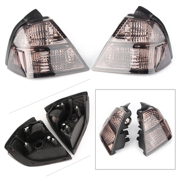 Lower Brake Taillight Turn Signal Light Clear Lens Cover For Honda Goldwing GL1800 2001 2002 2003 2004 2005 Tan