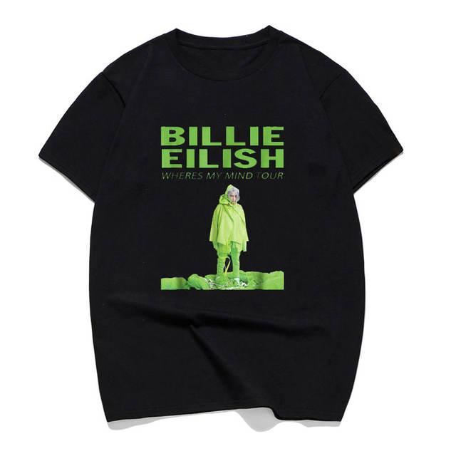 BILLIE EILISH WHERES MY MIND TOUR T-SHIRT