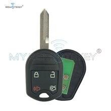 Remtekey 4 Кнопка чехол для ключа 434 МГц ford edge escape dispatch