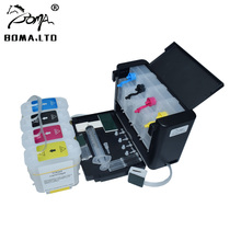 BOMA.LTD Continuous Ink Supply System For HP82 With Reset ARC Chip For HP 82 Ciss For HP Designjet 510 CH565A Printer continuous ink supply system for hp 564 more 5 color