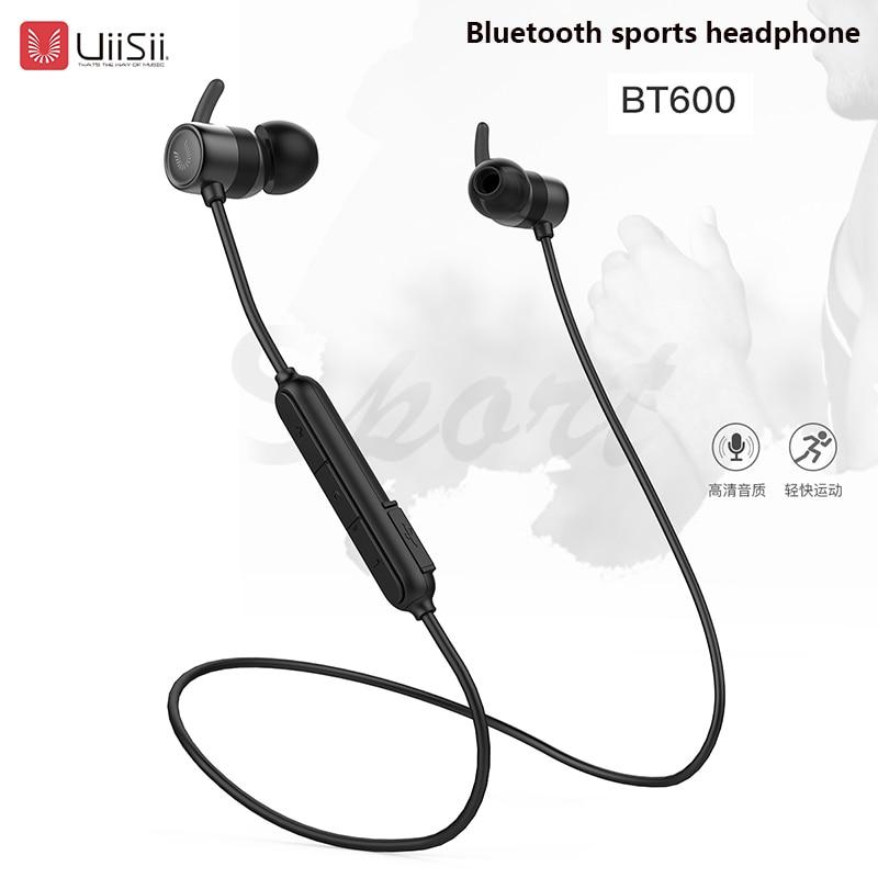 UiiSii BT600 Wireless Bluetooth Earphone In-Ear Sports Running Headset Waterproof IPX5 with Mic Earbuds for Apple Meizu XiaomiUiiSii BT600 Wireless Bluetooth Earphone In-Ear Sports Running Headset Waterproof IPX5 with Mic Earbuds for Apple Meizu Xiaomi