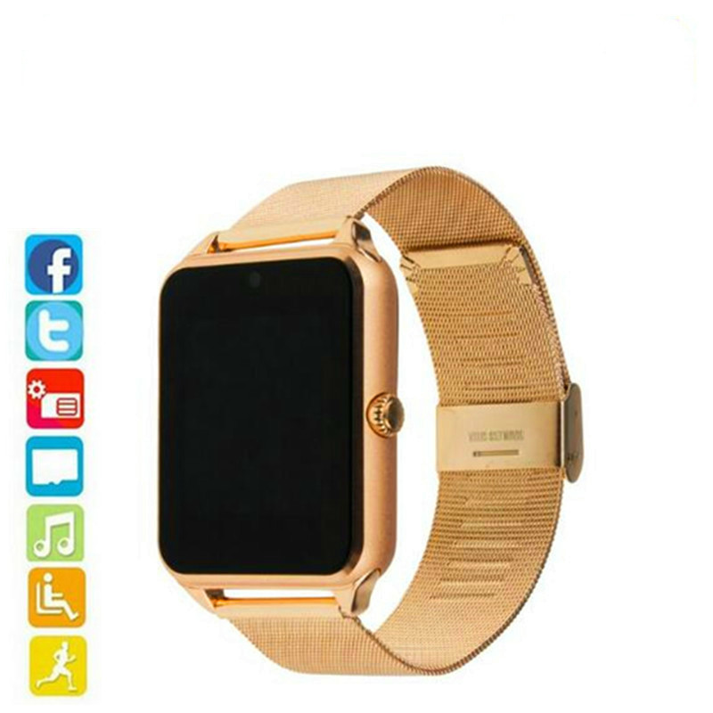 Smart Gt08 Plus Metalen Band Bluetooth Pols Smartwatch Ondersteuning Sim Tf Card Android & Ios Horloge Multi- Talen Pk S8 Z60Smart Gt08 Plus Metalen Band Bluetooth Pols Smartwatch Ondersteuning Sim Tf Card Android & Ios Horloge Multi- Talen Pk S8 Z60
