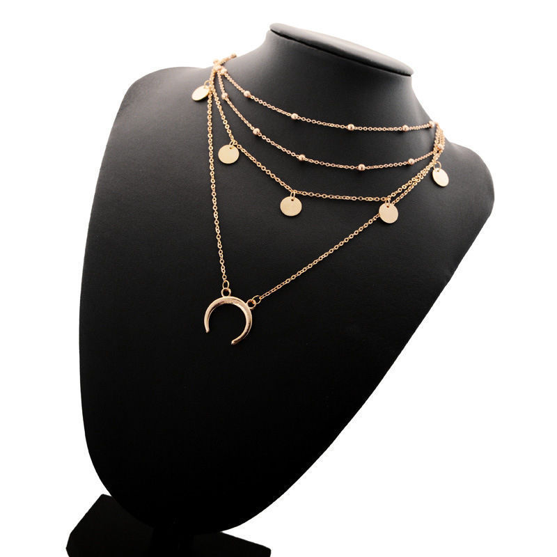 Fashion Charm Jewelry Women Choker Perfect Accessory For Yourself And Your Friends Hot Statement Bib Pendant Necklace Chain image