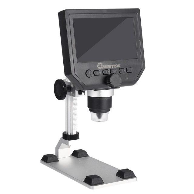 3.6MP G600 Digital 600X 4.3inch HD LCD Display Microscope 3