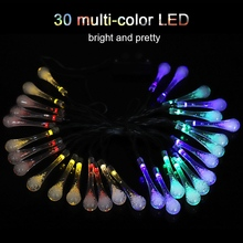 6m LED Solar Powered Multi-Color Wire String led light string Fairy Light Outdoor Waterproof Christmas Decor DIY Decoration Lamp 2m outdoor waterproof ip65 decoration light 100ma dc 1 2v led solar string light outdoor string led holiday decor lamp