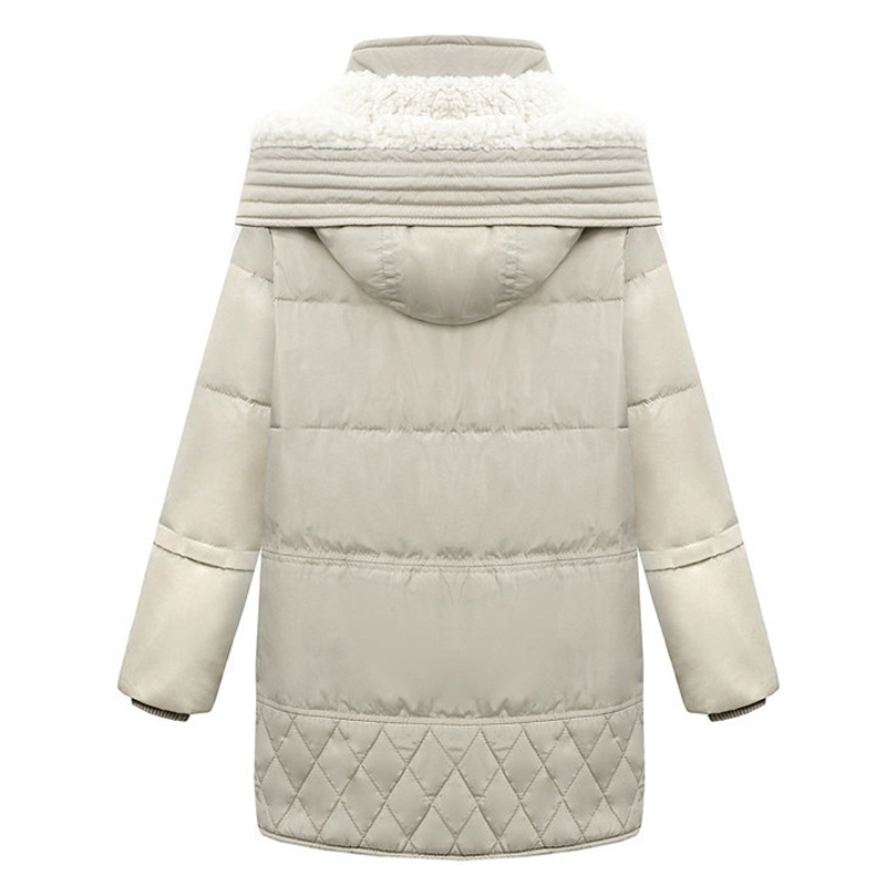 Down Femme 2018 Taille 100 Canard black Pardessus Plus La Manteau Veste Parkas D'hiver Femmes Moyen Beige Long Blanc Duvet De Parka Lâche 66xdqwrPU