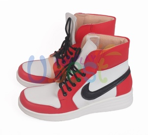 Image 4 - Miles Morales Shoes Cosplay Ultimate Spider Man Mens Boots