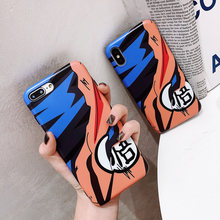 Para Samsung galaxy S8 S9 S10 Note 8 Note9 funda Dragon Ball Super Son Goku funda de silicona suave para iphone 6 6S 7 8 plus X XR XS.(China)