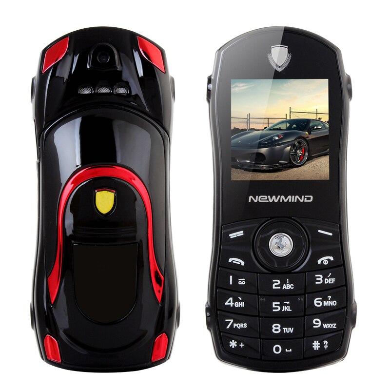 Newmind modèle de voiture russe clavier SOS petite taille clé faible rayonnement GPRS Ebook Mini enfant étudiant barre Mobile téléphone portable P042