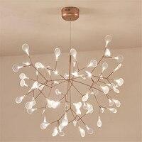 New Design Acrylic Modern Chandelier Lighting lamp G4 led Chandelier Ceiling Luminaria Bedroom Suspended Lamp Firefly Lustre