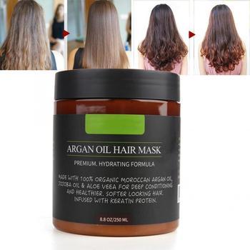 250g Argan Oil Hair Mask Nourishing Treatment Soft Smooth Repair Damage Treatment Hair Care hair treatment shiseido damage care treatment