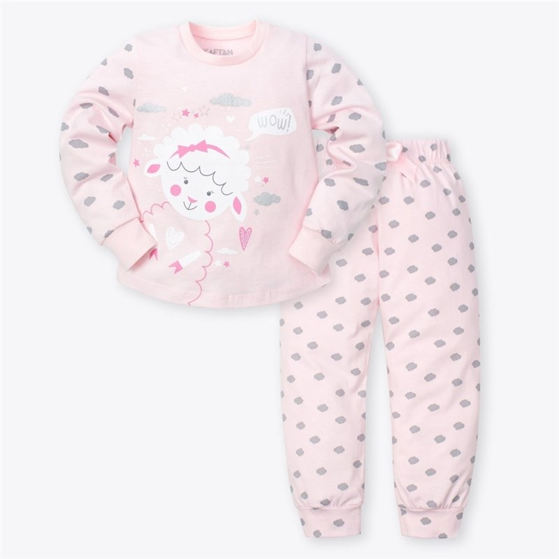 Pajama pants and jumper Little Lamb 3 8g. 95% cotton 5% elastane pajama lace trim cami top and shorts