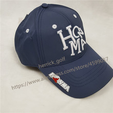 Baseball-Cap Sun-Visor Golf-Hat HONMA Women's New And Blue Sports-Cap